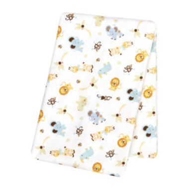 jcpenney.com | Trend Lab® Jungle Friends Deluxe Swaddle Blanket