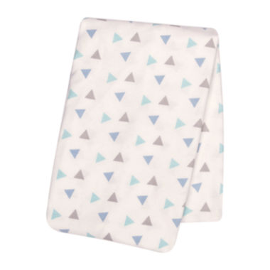 jcpenney.com | Trend Lab® Mint Triangles Deluxe Swaddle Blanket