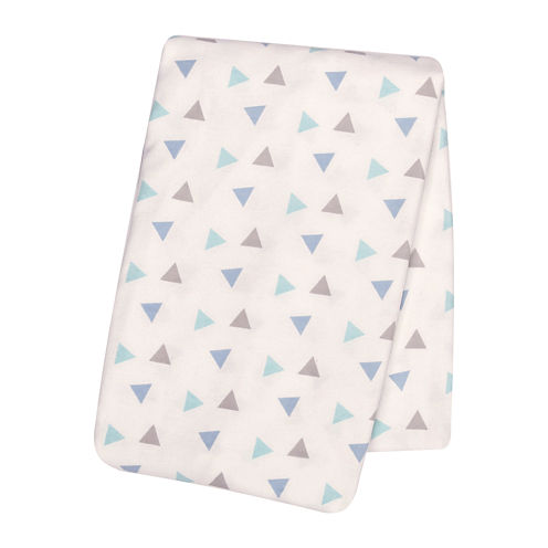 Trend Lab® Mint Triangles Deluxe Swaddle Blanket