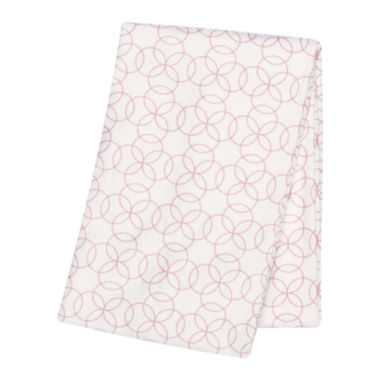 jcpenney.com | Trend Lab® Pink Circles Deluxe Swaddle Blanket