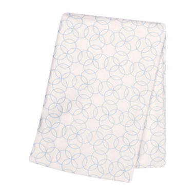jcpenney.com | Trend Lab® Blue Circles Deluxe Swaddle Blanket