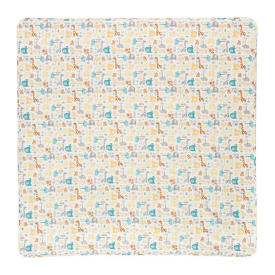 Trend Lab® Lullaby Zoo Deluxe Swaddle Blanket