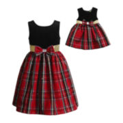Dollie & Me Special Occasion Dress - Girls 7-12