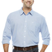 Dockers® Long-Sleeve Mini-Roadmap Shirt - Big & Tall