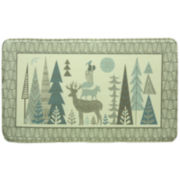 Bacova Folklore Memory Foam Rectangular Rug