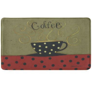 jcpenney.com | Bacova Coffee Cup Memory Foam Rectangular Rug