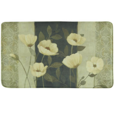 jcpenney.com | Bacova Midnight Poppies Memory Foam Rectangular Rug