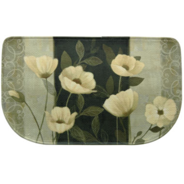 jcpenney.com | Bacova Midnight Poppies Memory Foam Wedge Rug