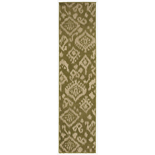 Covington Home Tribal Rectangular Runner Rug