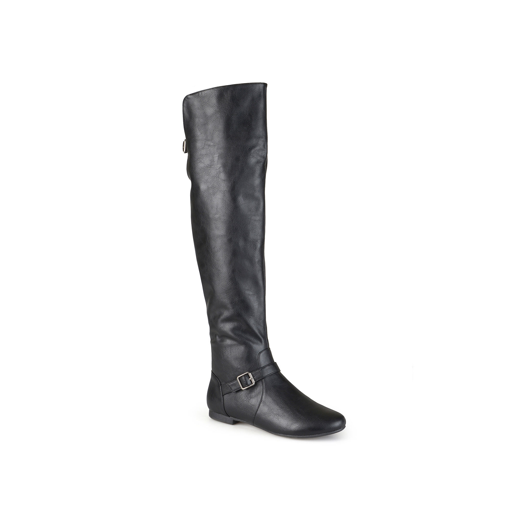 Journee Collection Loft Knee-High Riding Boots - Wide Calf plus size,  plus size fashion plus size appare