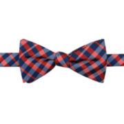 Stafford® Ross Plaid Pre-Tied Bow Tie