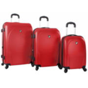 Heys® Xcase 3-pc. Hardside Spinner Luggage Set
