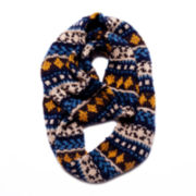 MUK LUKS® Chunky Knit Eternity Scarf