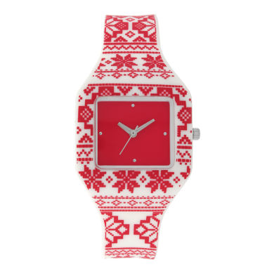 jcpenney.com | Mixit™ Womens Red Strap Watch