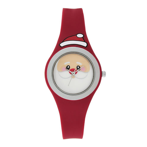 Mixit™ Womens White Strap Watch
