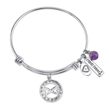 jcpenney.com | Footnotes Womens Friends Forever Expandable Brass Bangle Bracelet
