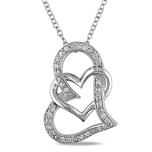 1/4 CT. T.W. White Diamond Pendant Necklace