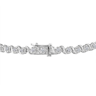 jcpenney.com | Womens 1 CT. T.W. White Diamond Sterling Silver Tennis Bracelet