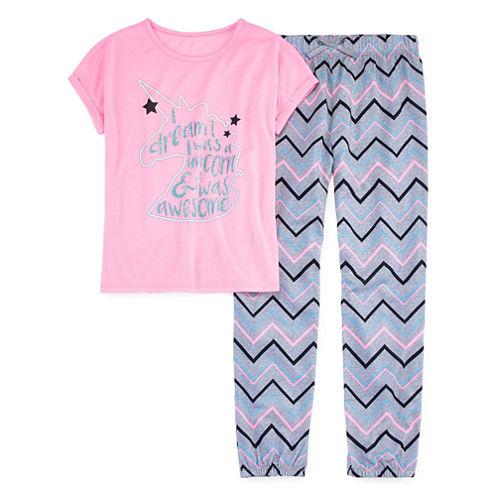 Total Girl Pant Pajama Set Girls