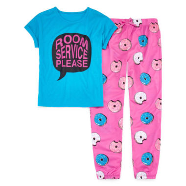 jcpenney.com | Total Girl Pant Pajama Set Girls