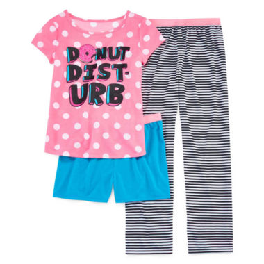 jcpenney.com | Total Girl Kids Pajama Set Girls