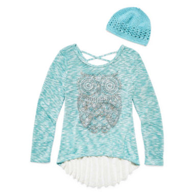 jcpenney.com | Knit Works Long Sleeve Layered Top - Big Kid