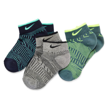 jcpenney.com | Nike® 3-pk. Graphics Low Cut Socks - Boys