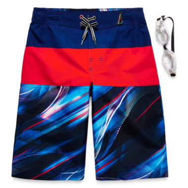 jcpenney.com | Zeroxposur Boys Pattern Trunks-Big Kid