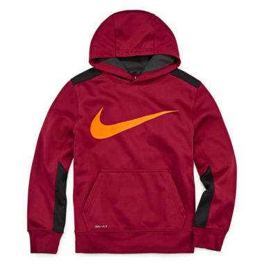 jcpenney.com | Nike® Therma-FIT Fleece Hoodie - Boys 8-20