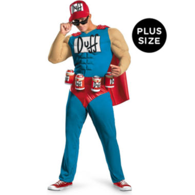 jcpenney.com | The Simpsons - Duffman 4-pc. Dress Up Costume