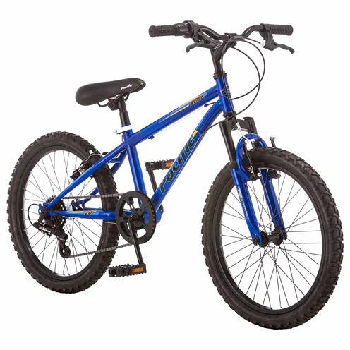 """Pacific Rook 20"""" Boys ATB Front Suspension Mountain Bike"""