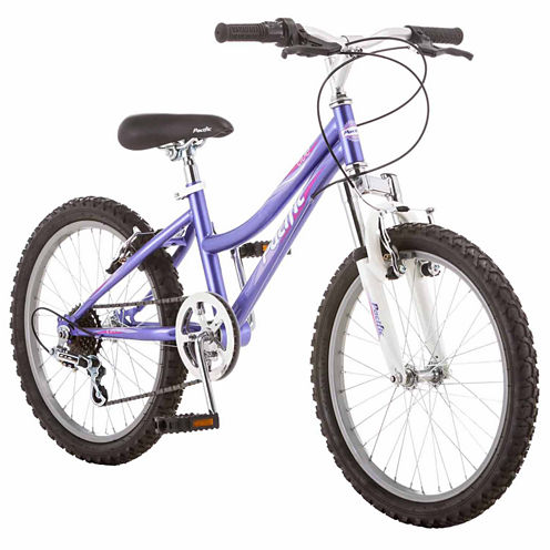 "Pacific Tide 20"" Girls ATB Front Suspension Mountain Bike"