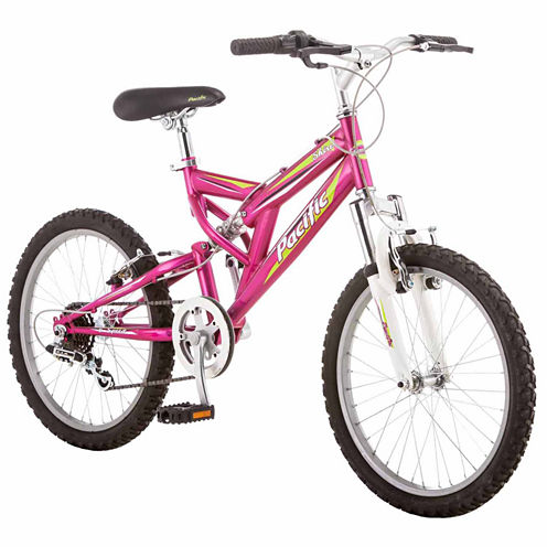 "Pacific Shire 20"" Girls Full Suspension Mountain Bike"