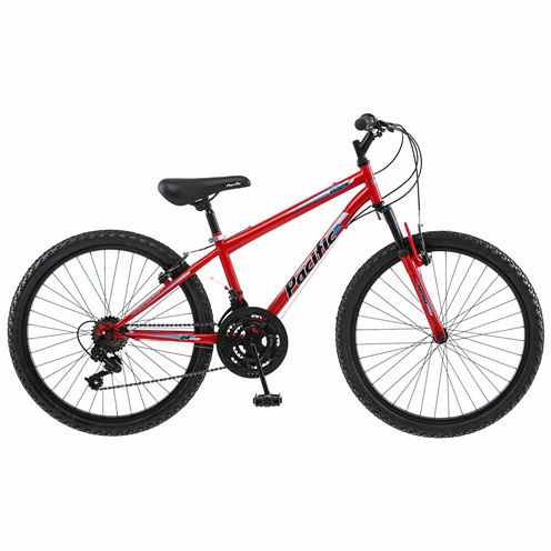 """Pacific Rook 24"""" Boys ATB Front Suspension Mountain Bike"""