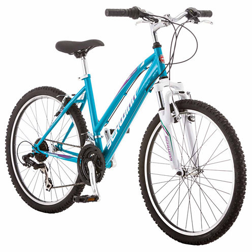 "Schwinn High Timber 24"" Girls ATB Front Suspension Mountain Bike"