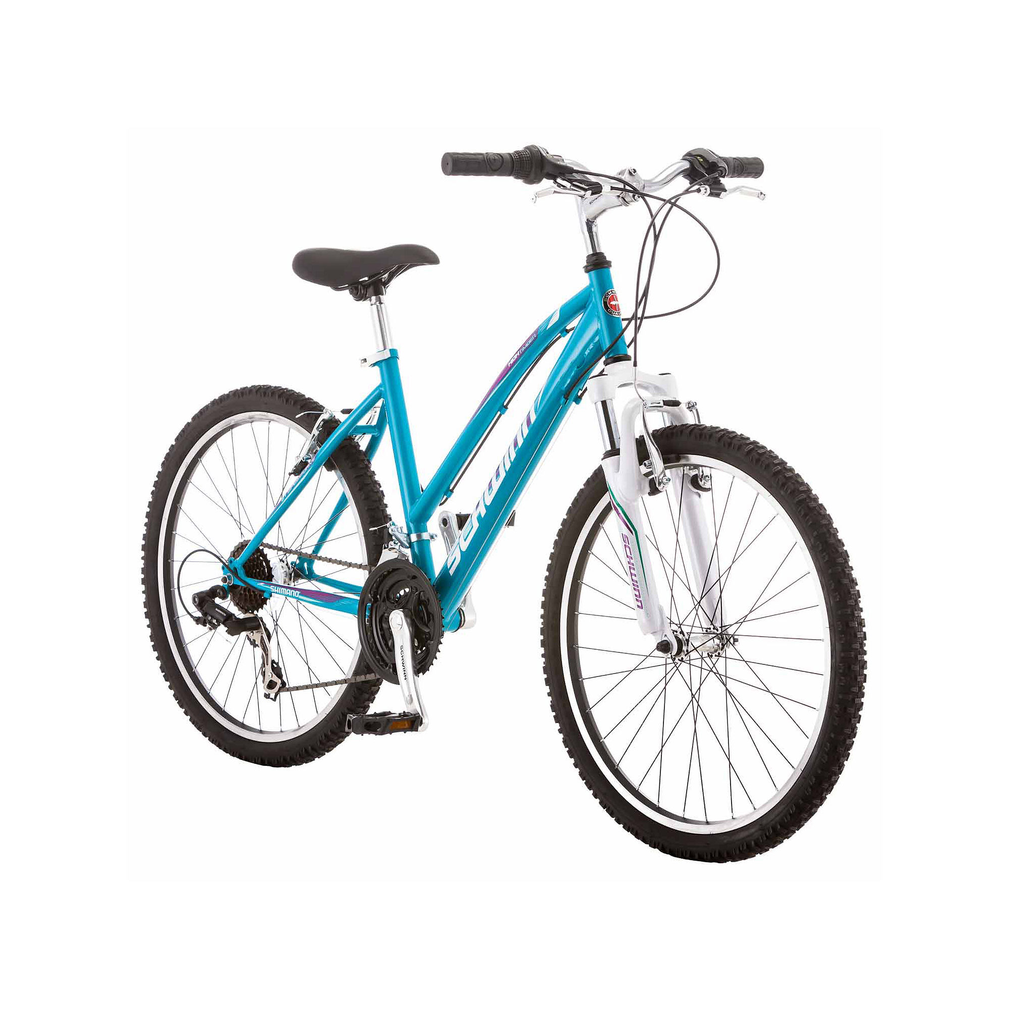 "24"""" Girl's High Timber Bike, Blue - SCHWINN S2449B"