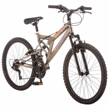 "jcpenney.com | Pacific Derby 24"" Boys Full Suspension Mountain Bike"