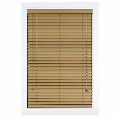 "jcpenney.com | Madera Falsa 2"" Faux Wood Horizontal Plantation Blinds"