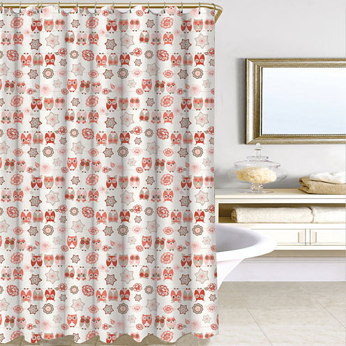Owl Ya Doin Shower Curtain