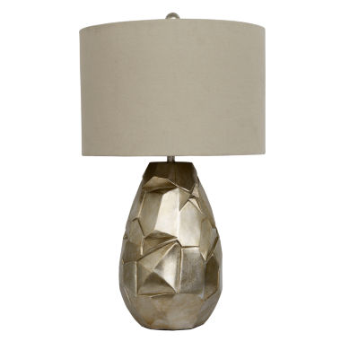 jcpenney.com | Décor Therapy Sculpted Silver Leaf Table Lamp
