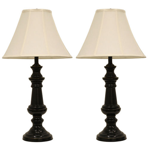 Décor Therapy Touch Control Bronze Table Lamps- Set of 2