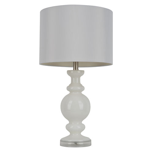 Décor Therapy Milk Glass Table Lamp