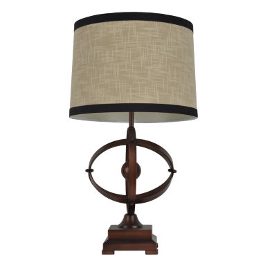 jcpenney.com | Décor Therapy Brown & Black Wood Table Lamp