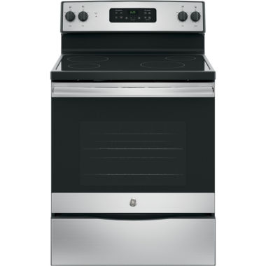 "jcpenney.com | GE® 30"" Free-Standing Electric Range"