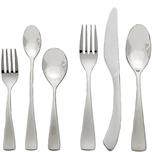 Oneida® Curva 6-pc. 18/10 Stainless Steel Baby Progress Flatware Set