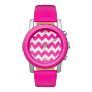 Womens Chevron Strap Watch
