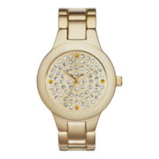 Womens Pave Dial Bracelet Watch - Large