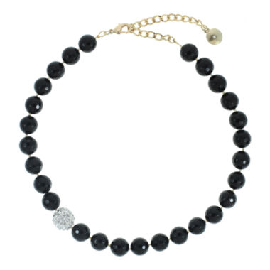 jcpenney.com | ROX by Alexa Faceted Black Quartz Necklace
