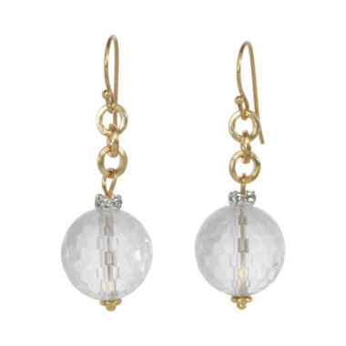 jcpenney.com | ROX by Alexa Faceted Crystal Drop Earrings