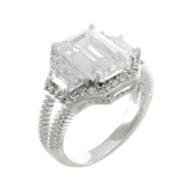 jcpenney.com | CZ by Kenneth Jay Lane Emerald-Cut Ring